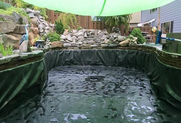 Sử dụng bạt HDPE lót hồ cá trên sân thượng tại sao không?