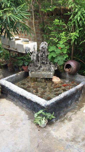 Khắc phục hồ cá cảnh bị thấm bằng bạt hdpe của bác Nguyễn Thanh Tâm