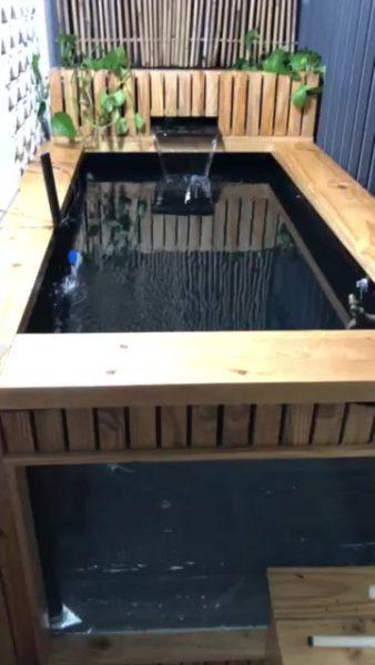 Dán chống dò bể cá của Mr Trường HCM